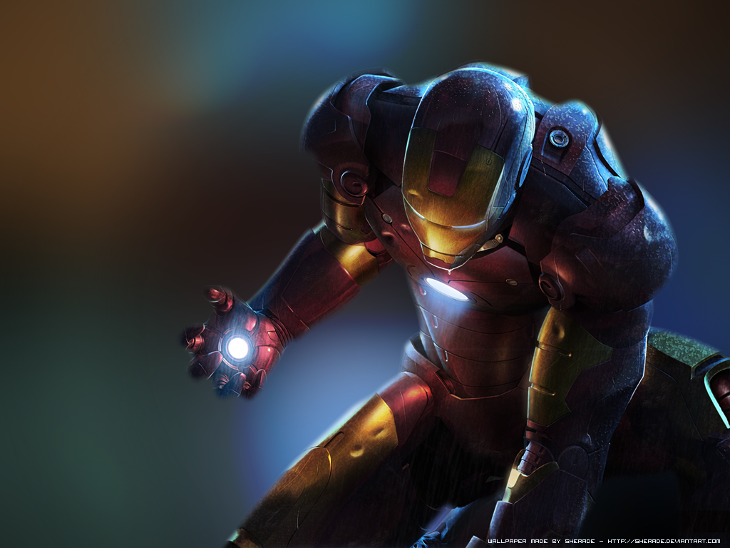 Ironman Backgrounds (PC, Mobile, Gadgets) Compatible | 1024x768