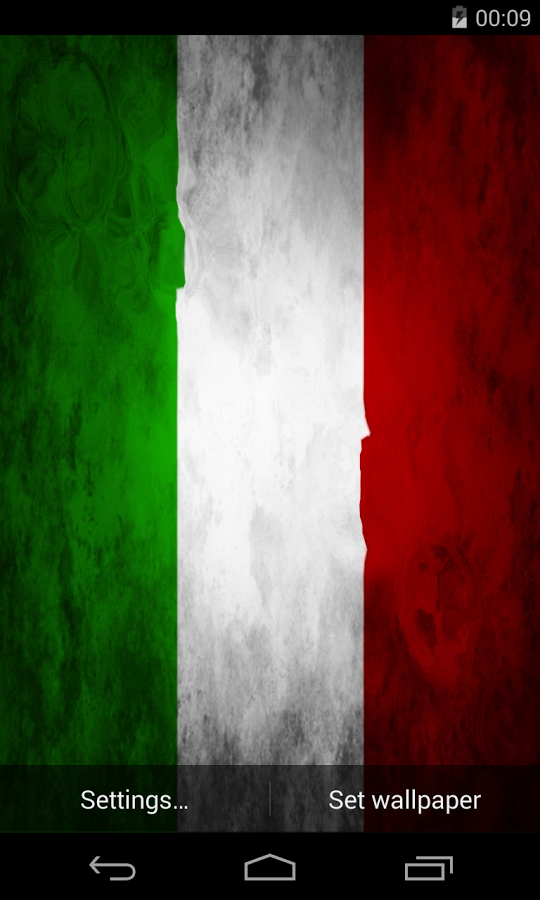Italian Flag-Wallpaper-OPV21