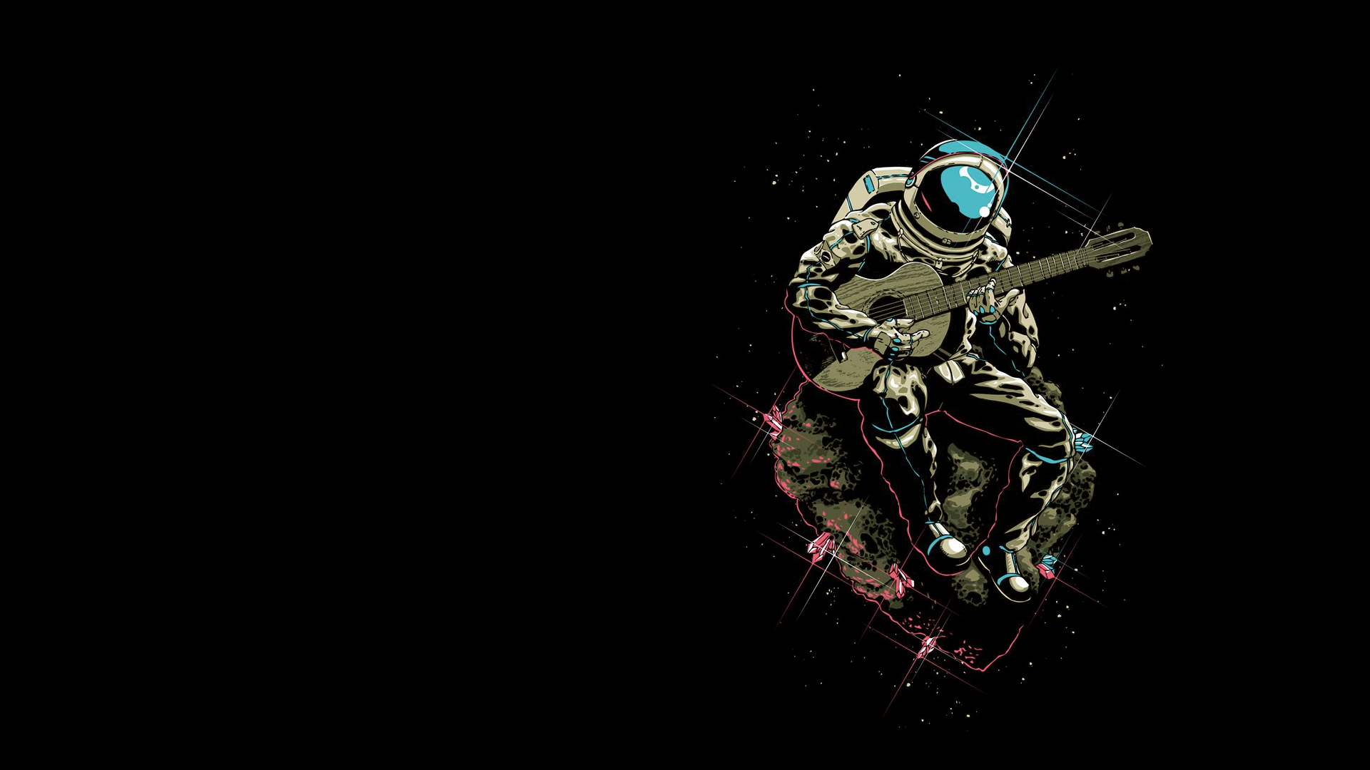Astronaut Wallpapers for Desktop (1920x1080, 659.94 Kb)