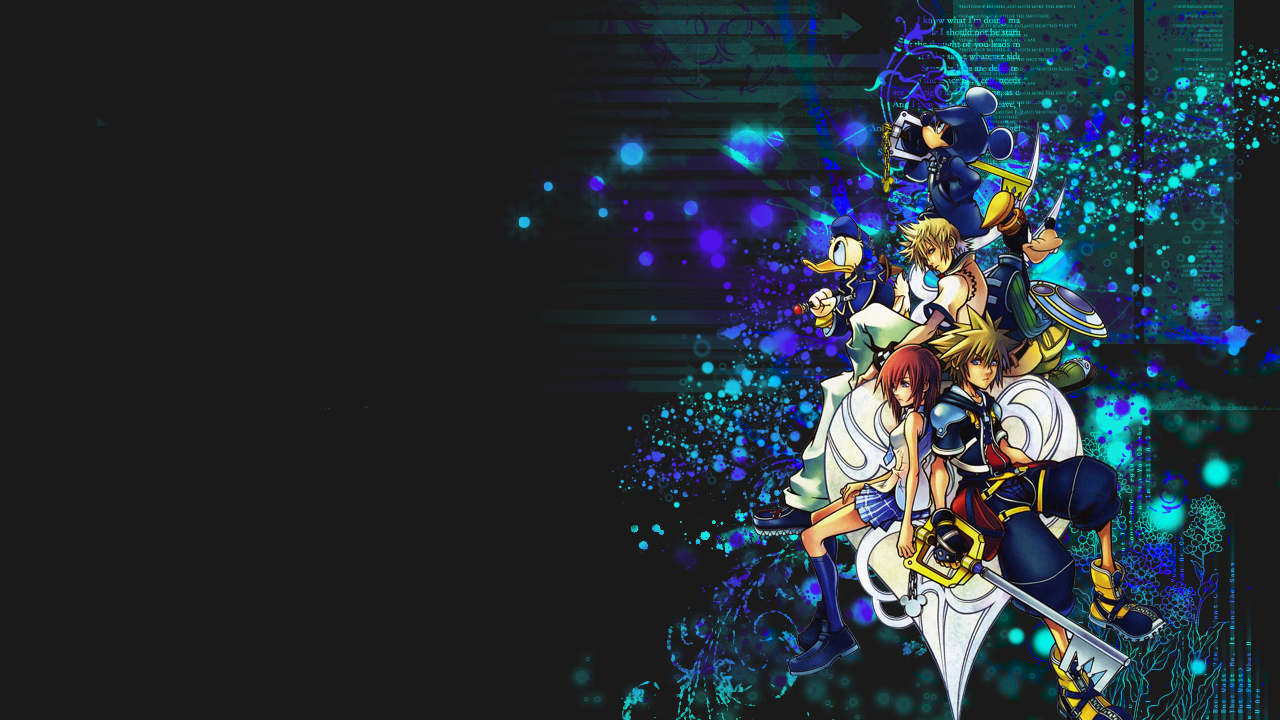 Kingdom Hearts Photos | Resolution: 1280x720, Kristin Karns