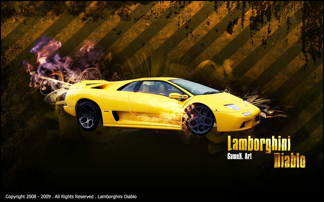 HD Lamborghini Diablo Wallpapers and Photos, 1280x800 px | By Floria Mcgonagle
