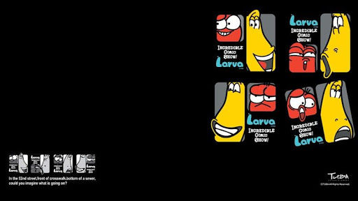 Larva Pictures, Top on B.SCB Wallpapers