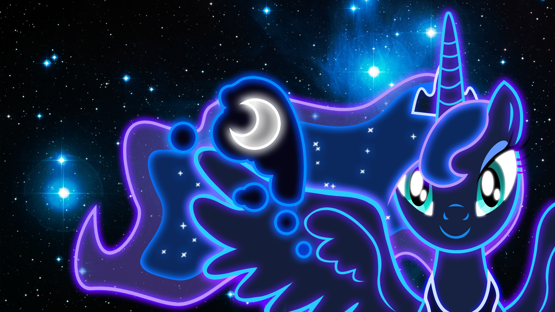 Luna Wallpaper by Alfonzo Spina PC.29-IEJ