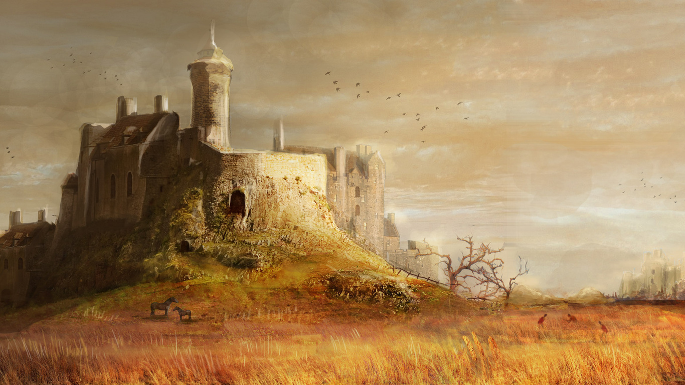 Medieval Backgrounds (PC, Mobile, Gadgets) Compatible | 1366x768