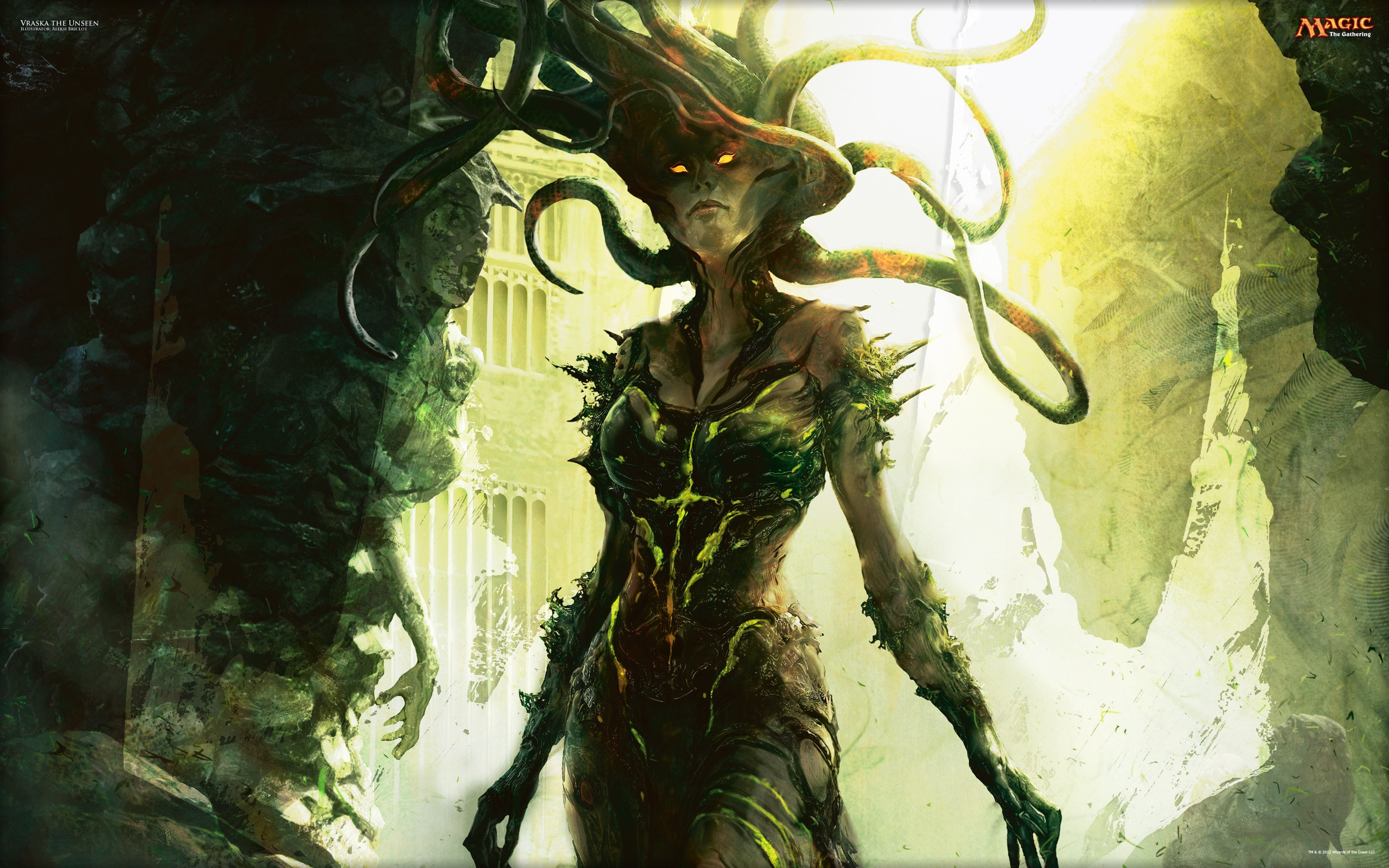 Medusa HD Widescreen Wallpaper Download, Retta Kress