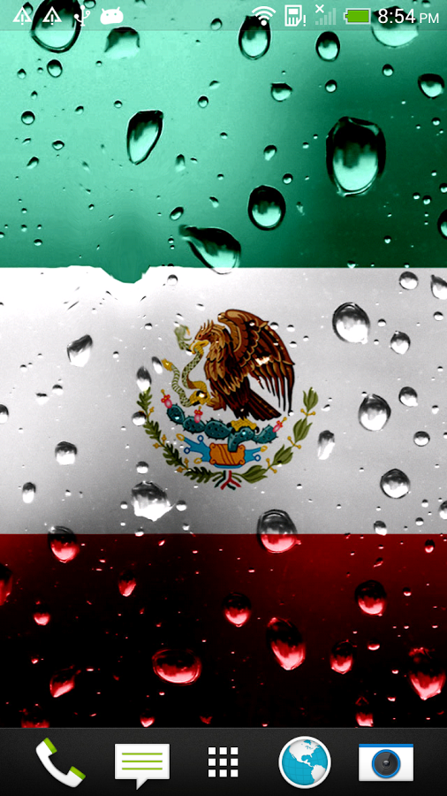 Irina Alvarenga: Mexican Flag, WP-43:506x900