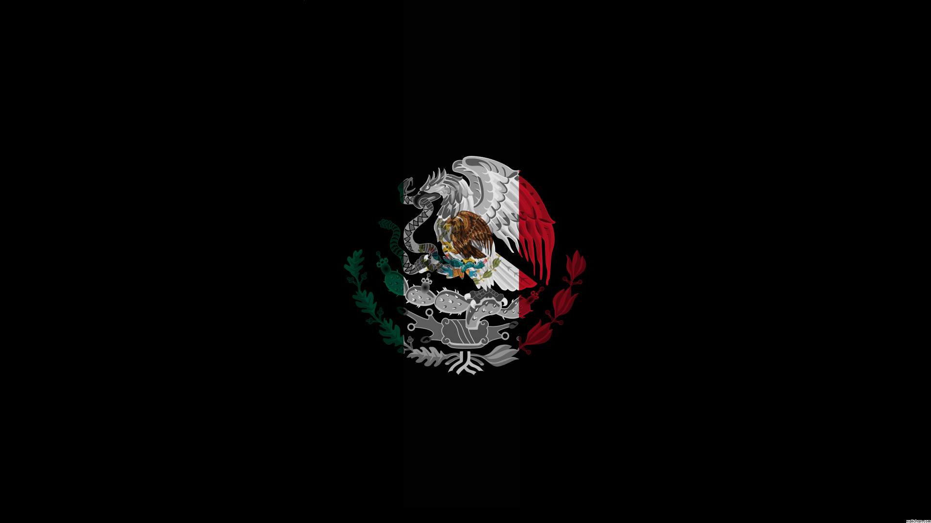 Mexican Flag HD Backgrounds for PC