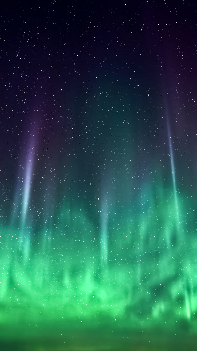Best Aurora Borealis 640x1136 Wallpaper by Krissy Timbers