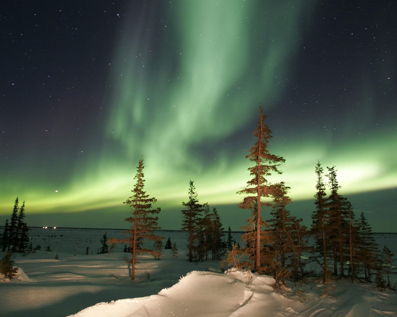 New Aurora Borealis HDQ Cover Wallpapers