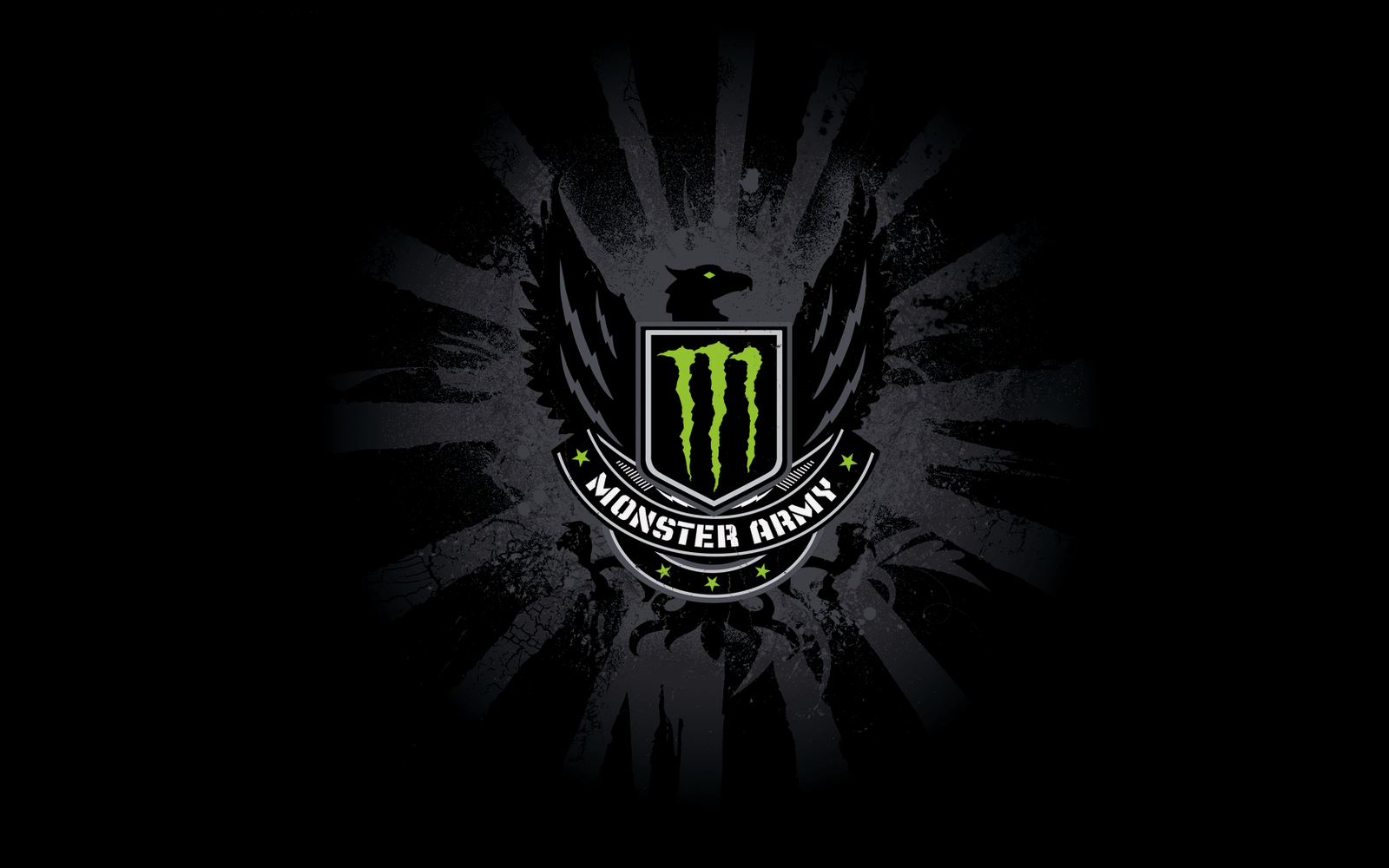 Adorable HDQ Backgrounds of Monster Energy, 1600x1000