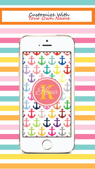 High Quality Backgrounds, Monogram - 320x568, Adella Mariner