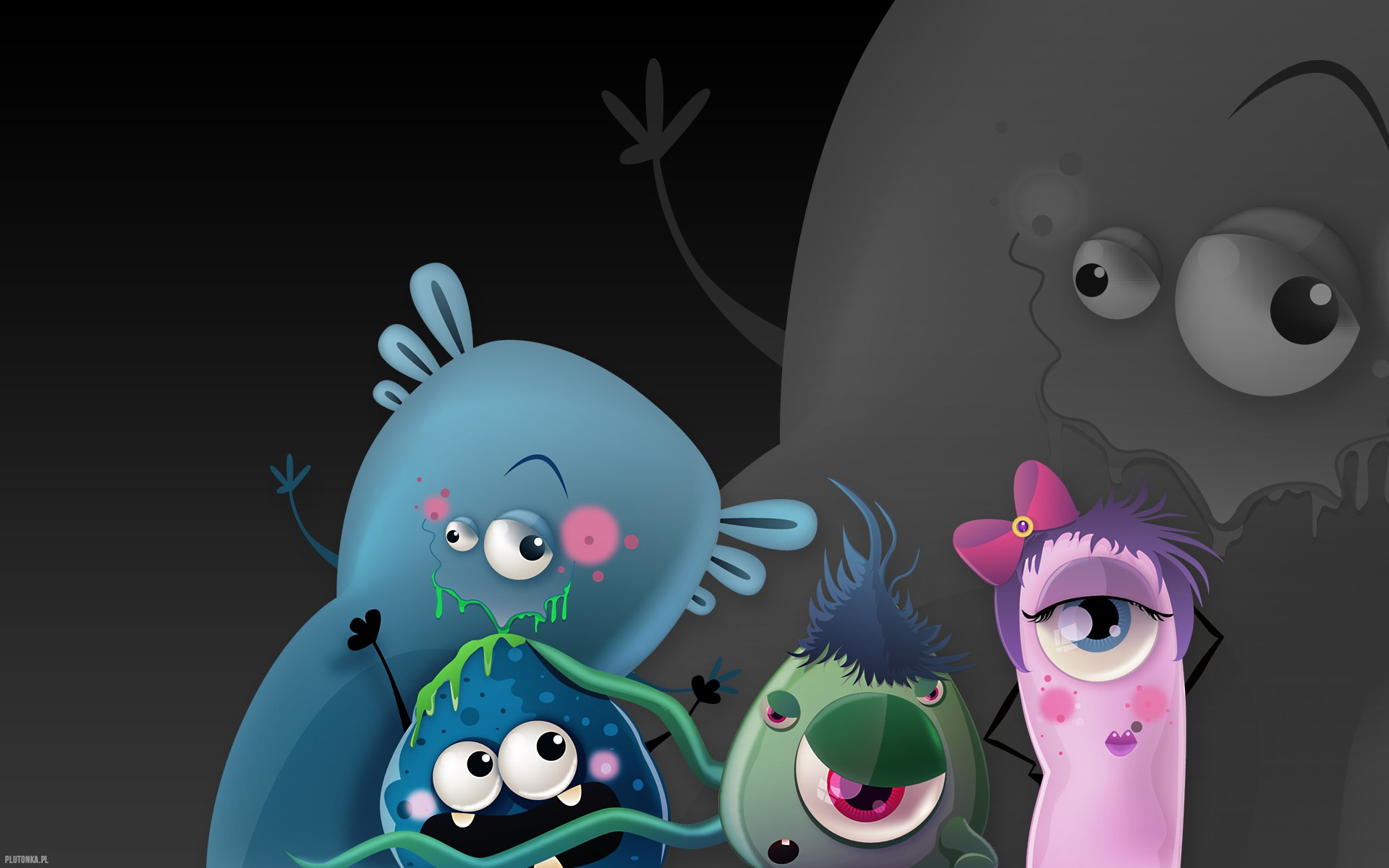 Wide HD Monsters Wallpaper | B.SCB Wallpapers HD Quality