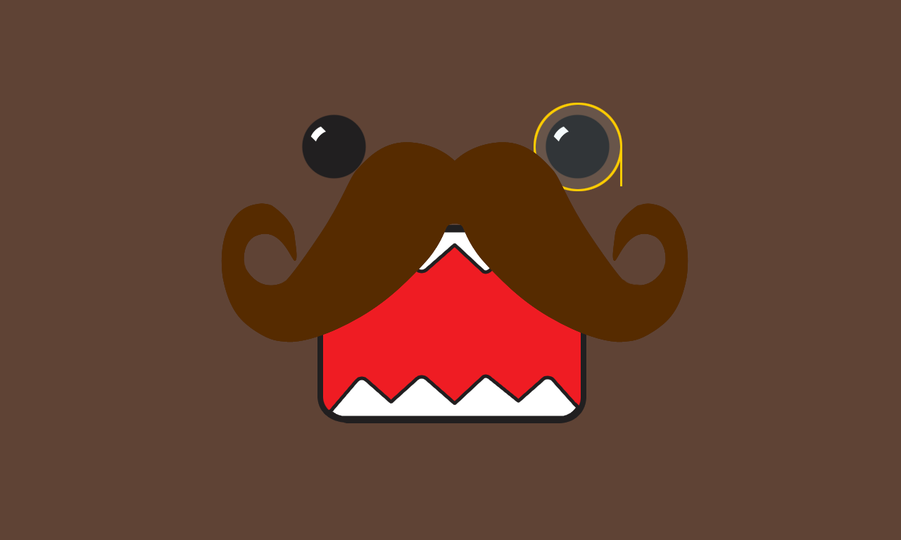 BsnSCB Gallery: Mustache, by Wilbur Mccleary