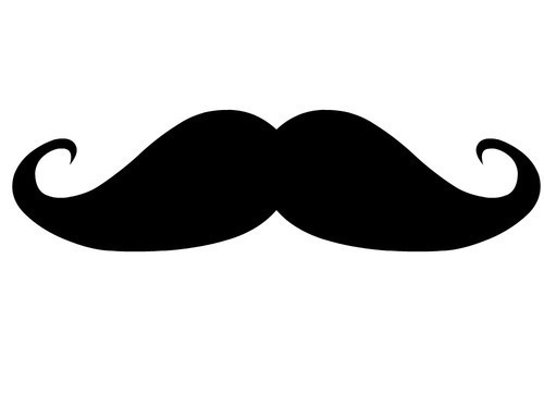 Best Mustache 500x362 px Wallpaper by Kym Madera