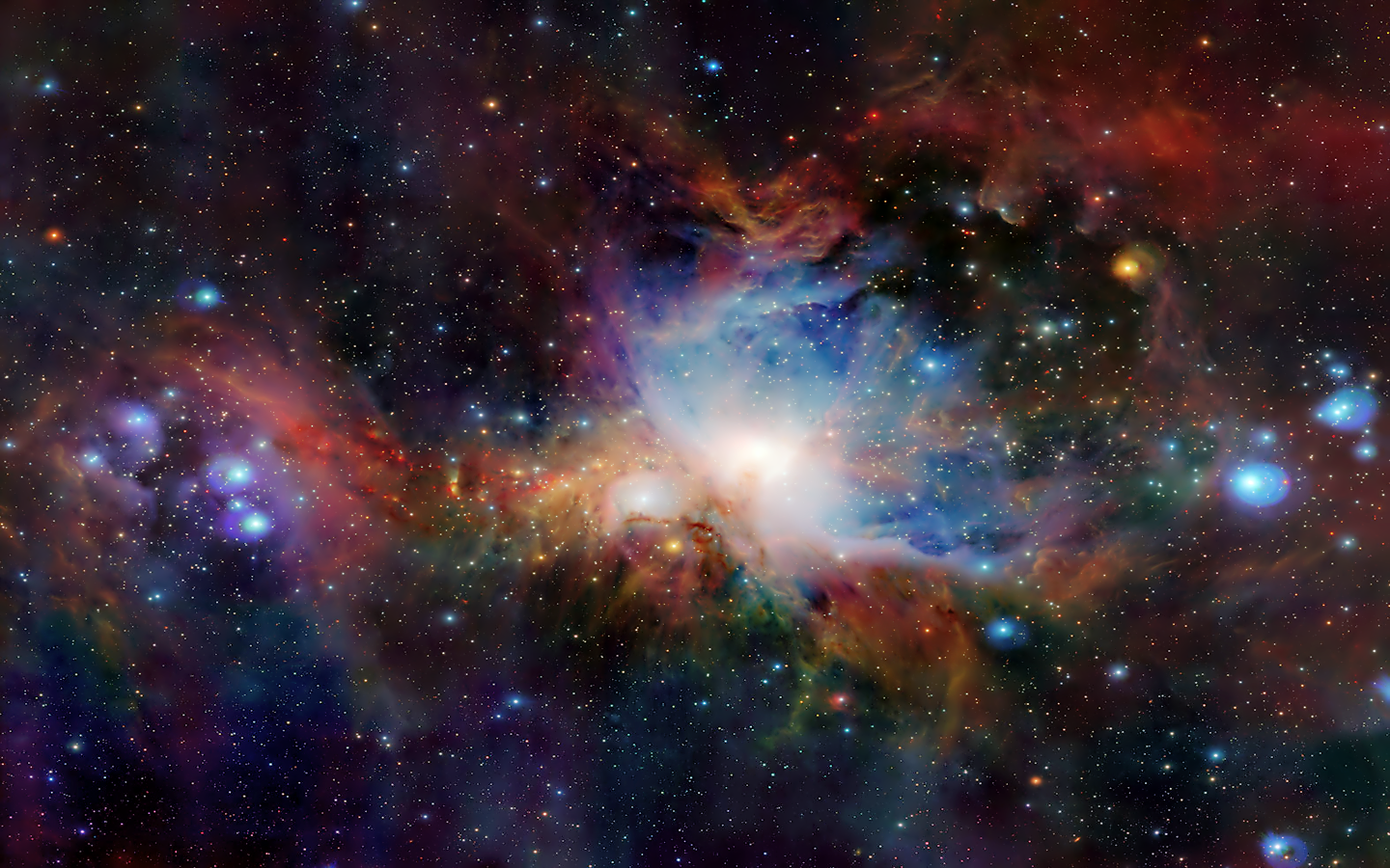 Nice Gallery of Nebula Backgrounds: 1440x900 px, Otto Heng