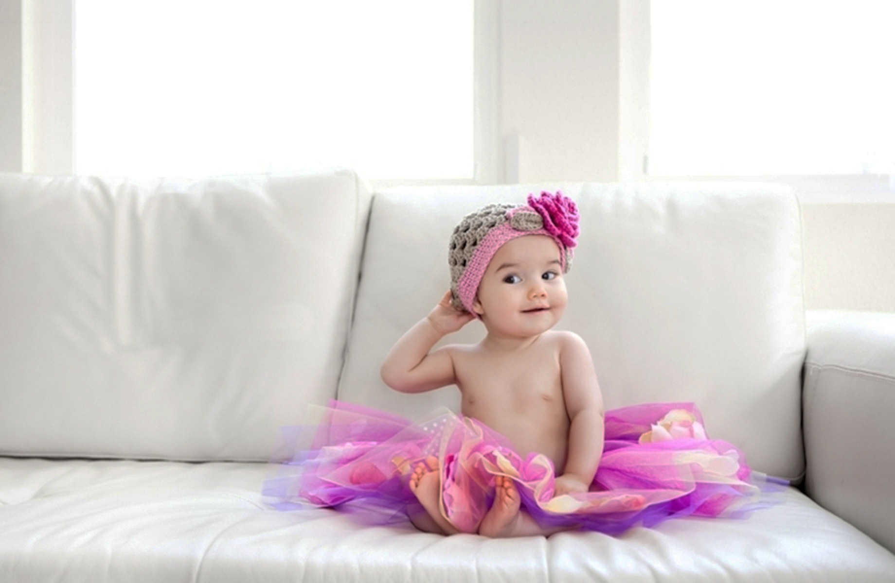 Adorable HDQ Backgrounds of Babies, 1840x1200 px