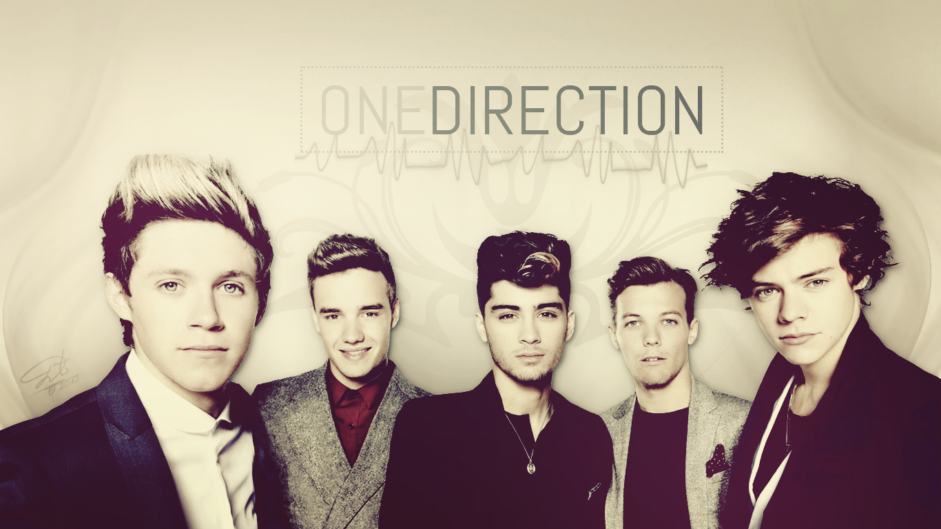 Backgrounds for Desktop: One Direction, 29/04/2014
