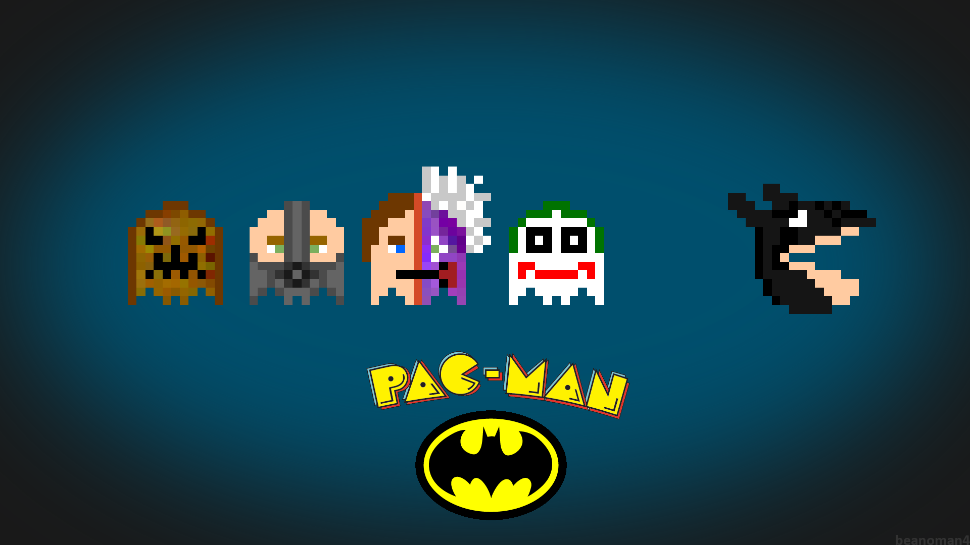 Download 1920x1080 Pacman HD Wallpapers for Free | B.SCB WP&BG Collection