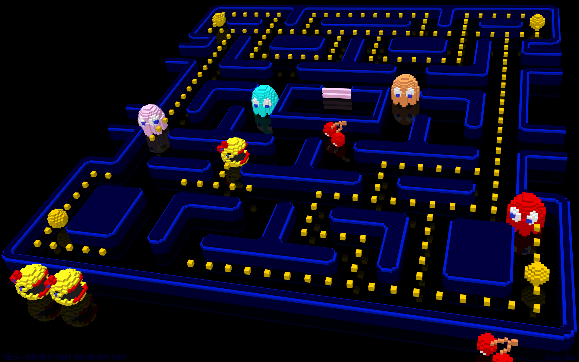 Pacman HQFX Live Wallpaper - DSC2727 Screenshot