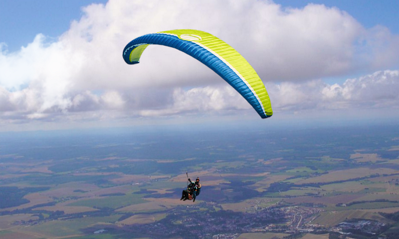 HDQ Cover Wallpaper | Background ID: 898989, 800x480 Paragliding