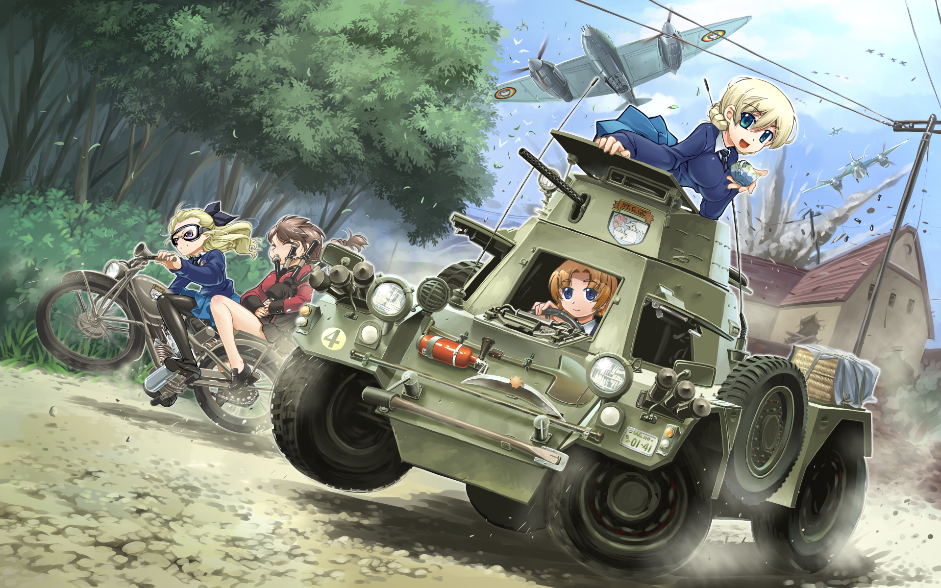 Panzer Wallpaper #EIJ81EIJ