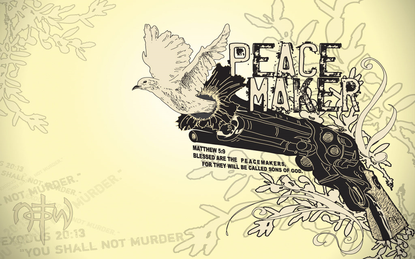 Peace Backgrounds (PC, Mobile, Gadgets) Compatible | 1440x900