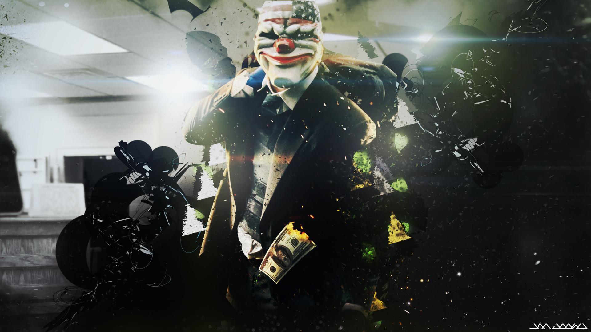 Payday Wallpapers HDQ Cover 1920x1080