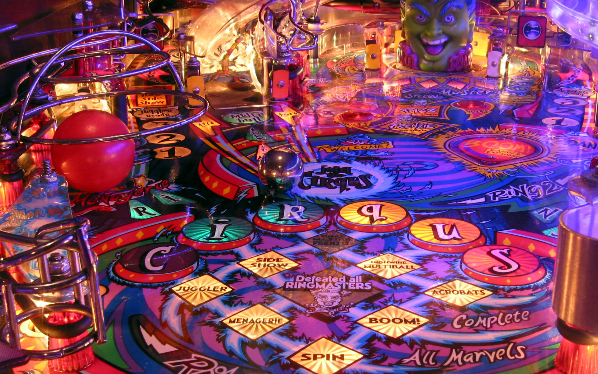 Backgrounds In High Quality: Pinball by Rosamond Pendarvis, February 17, 2016