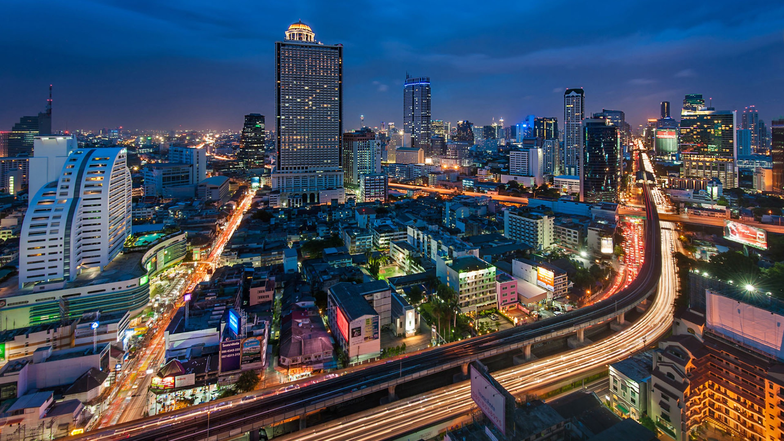 Bangkok HD Widescreen Wallpapers - PAI-HDQ Cover Pictures