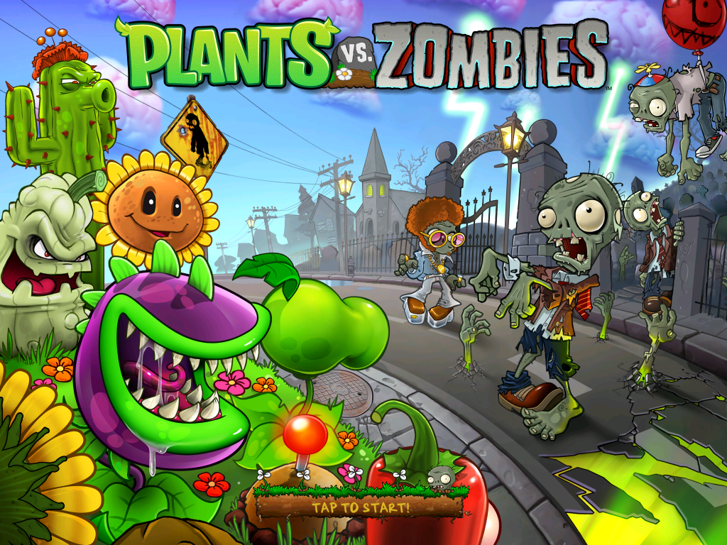 Plants Vs Zombies Wallpaper Desktop #h38859182, 876.06 Kb