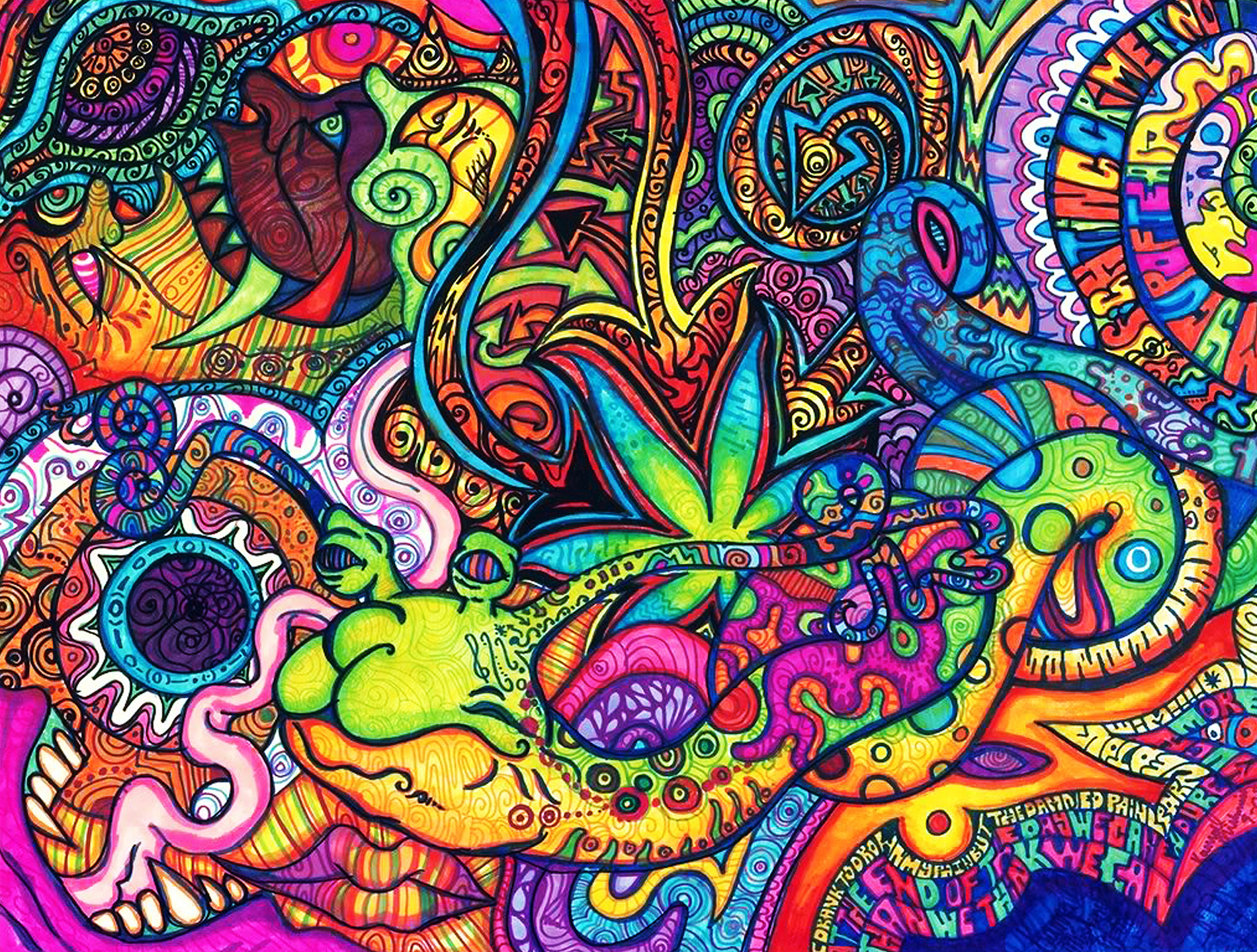 Jong Howard: Top HD Psychedelic Wallpapers, HDQ