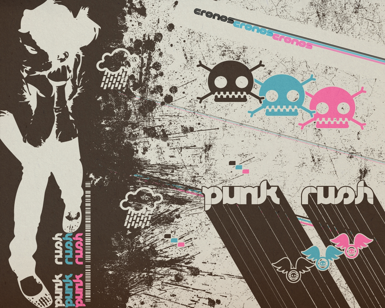 PC 1280x1024 Punk Wallpaper, BsnSCB Graphics