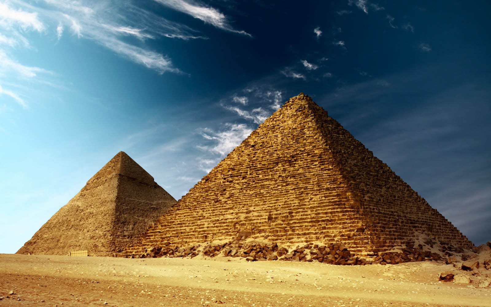 Widescreen Wallpapers: Pyramids, (1600x1000 px, V.35) - BsnSCB Graphics