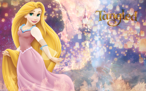 FHDQ Rapunzel Wallpapers Widescreen, DRT.22