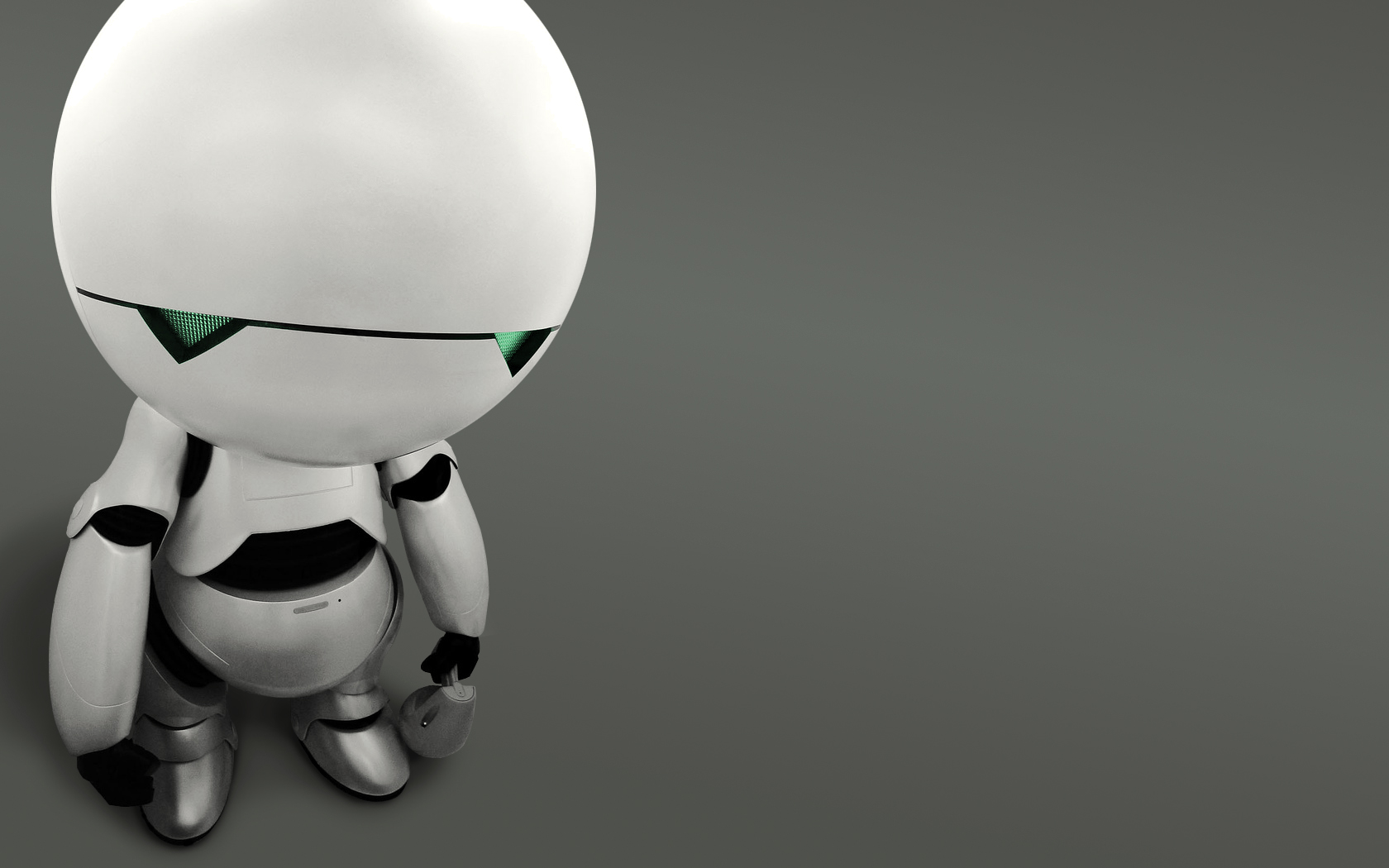 Adorable HDQ Backgrounds of Robot, 1680x1050 px
