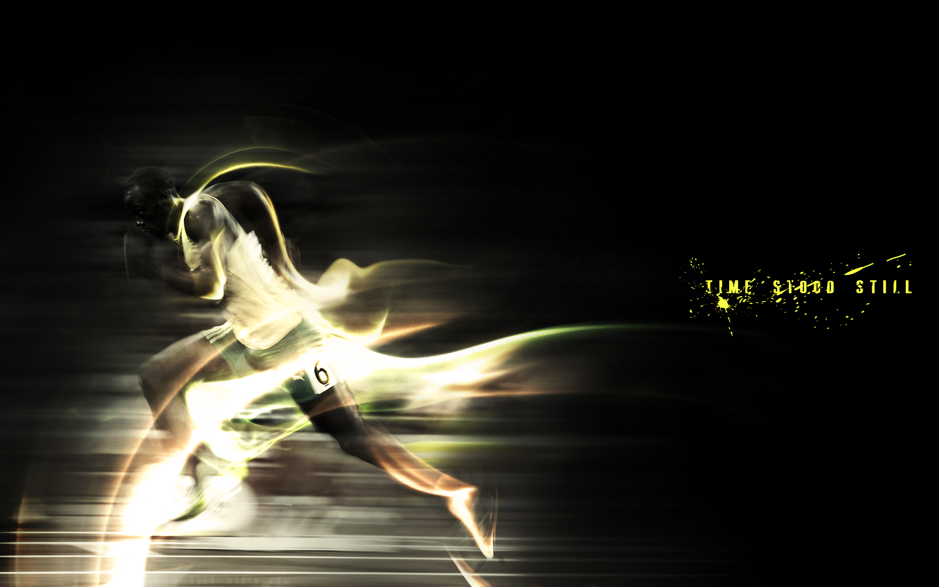 Running Wallpaper by Alethia Senters PC.83-YGN