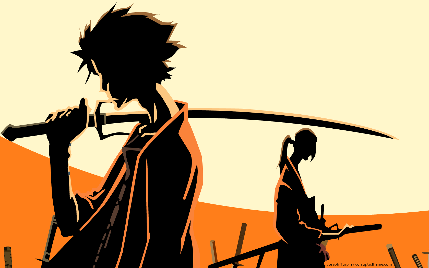 Widescreen Wallpapers: Samurai Champloo, (1680x1050 px, V.22) - B.SCB WP&BG Collection