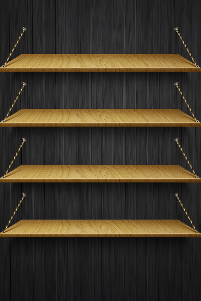 Shelves Wallpaper in HQ Resolution
