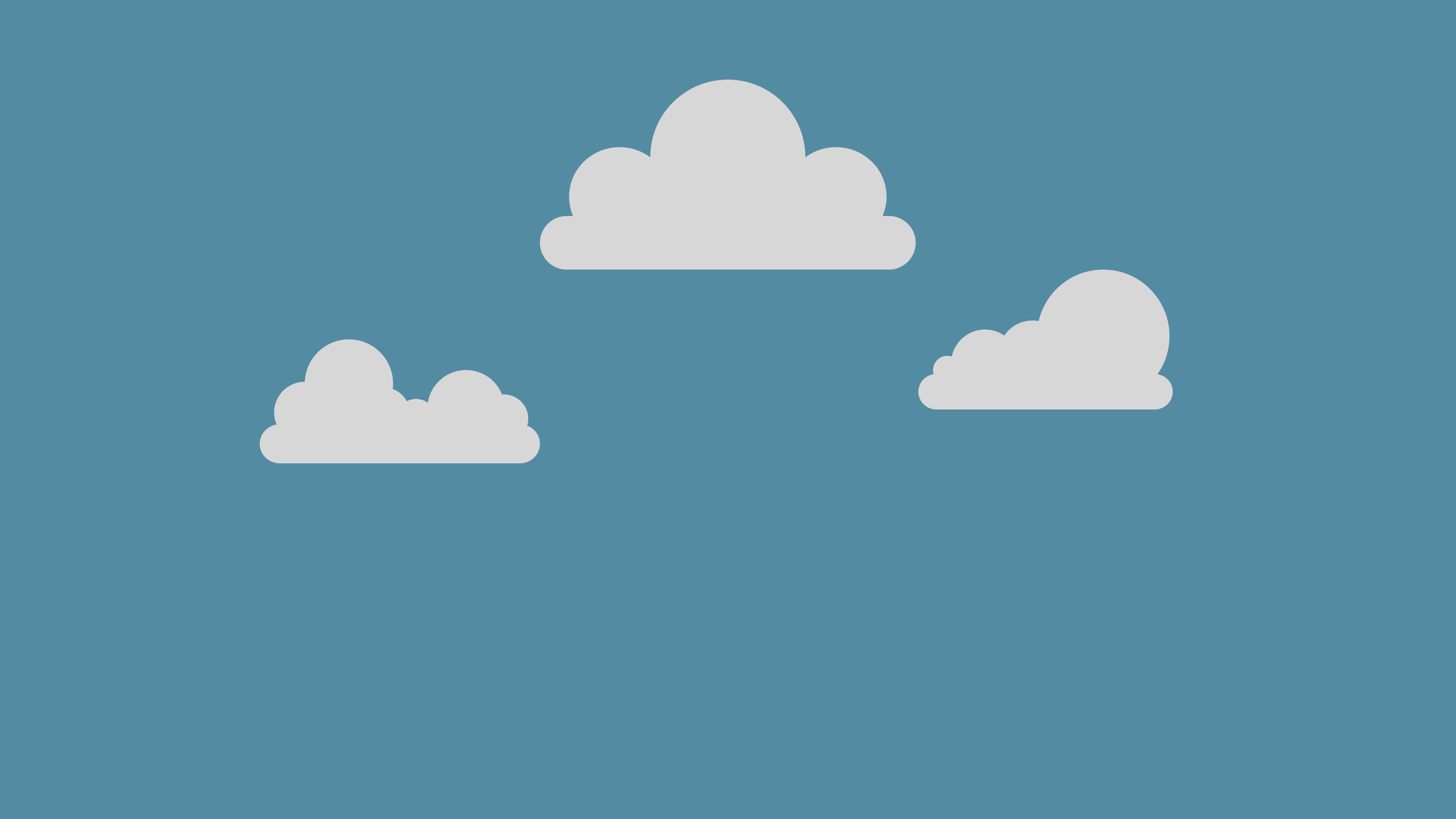 Live Simple Cloud Wallpaper