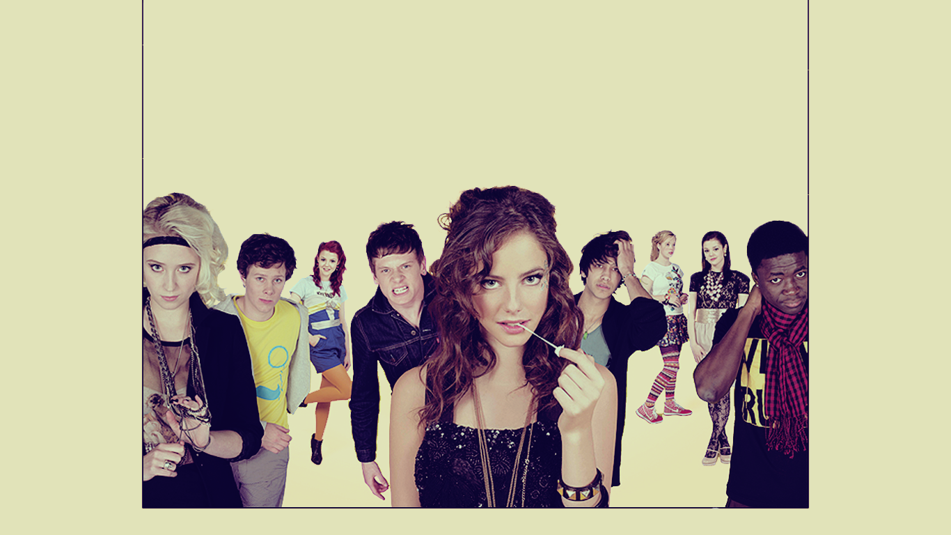 Skins Wallpapers 1366x768 | B.SCB