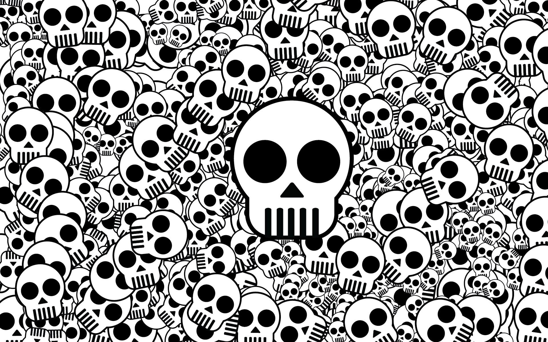 Download Wallpaper High Resolution Skull - 38925916-skull-wallpapers  Graphic_869969.png