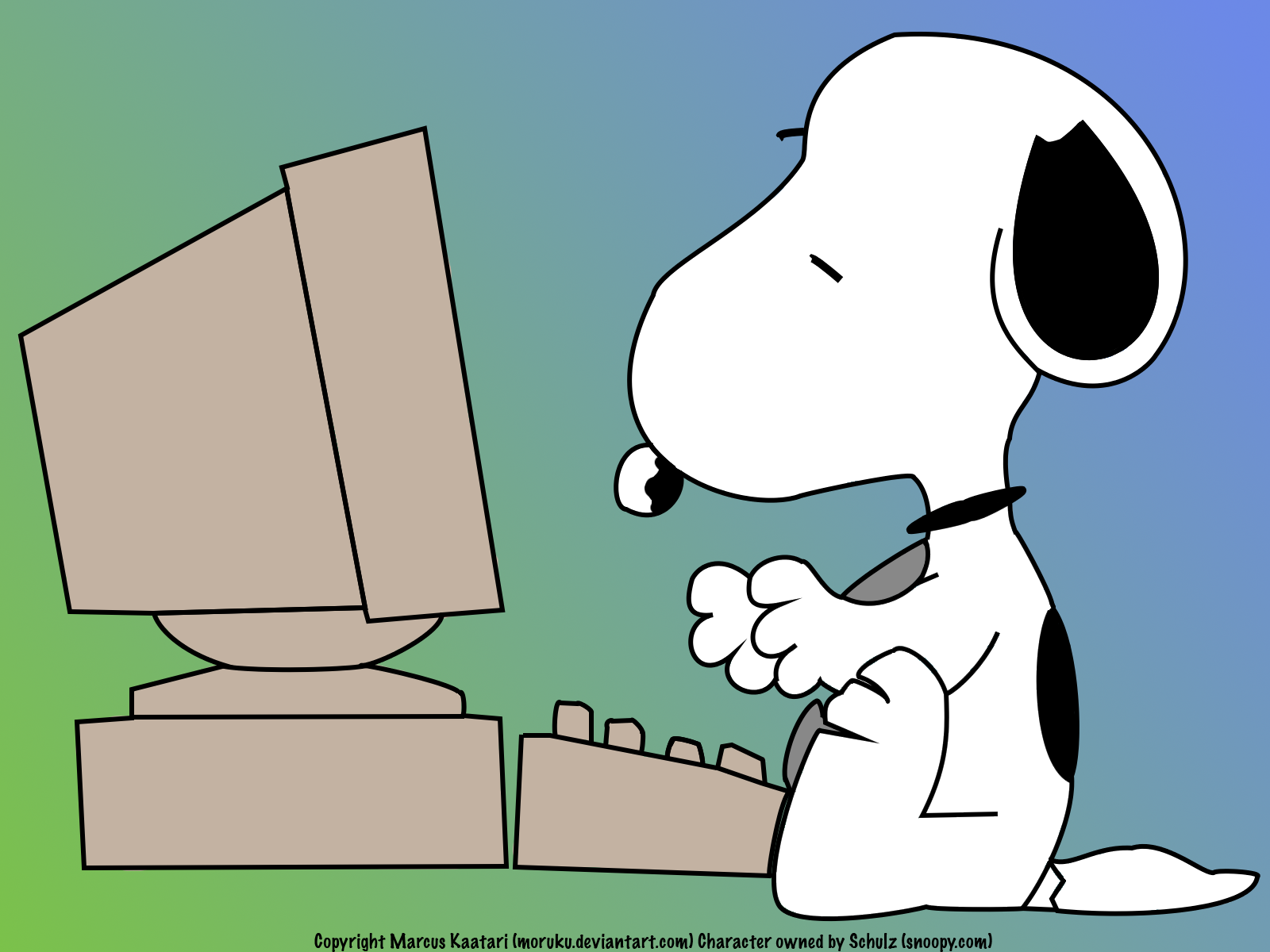 Cool Wallpapers Collection: Snoopy Desktop Wallpapers
