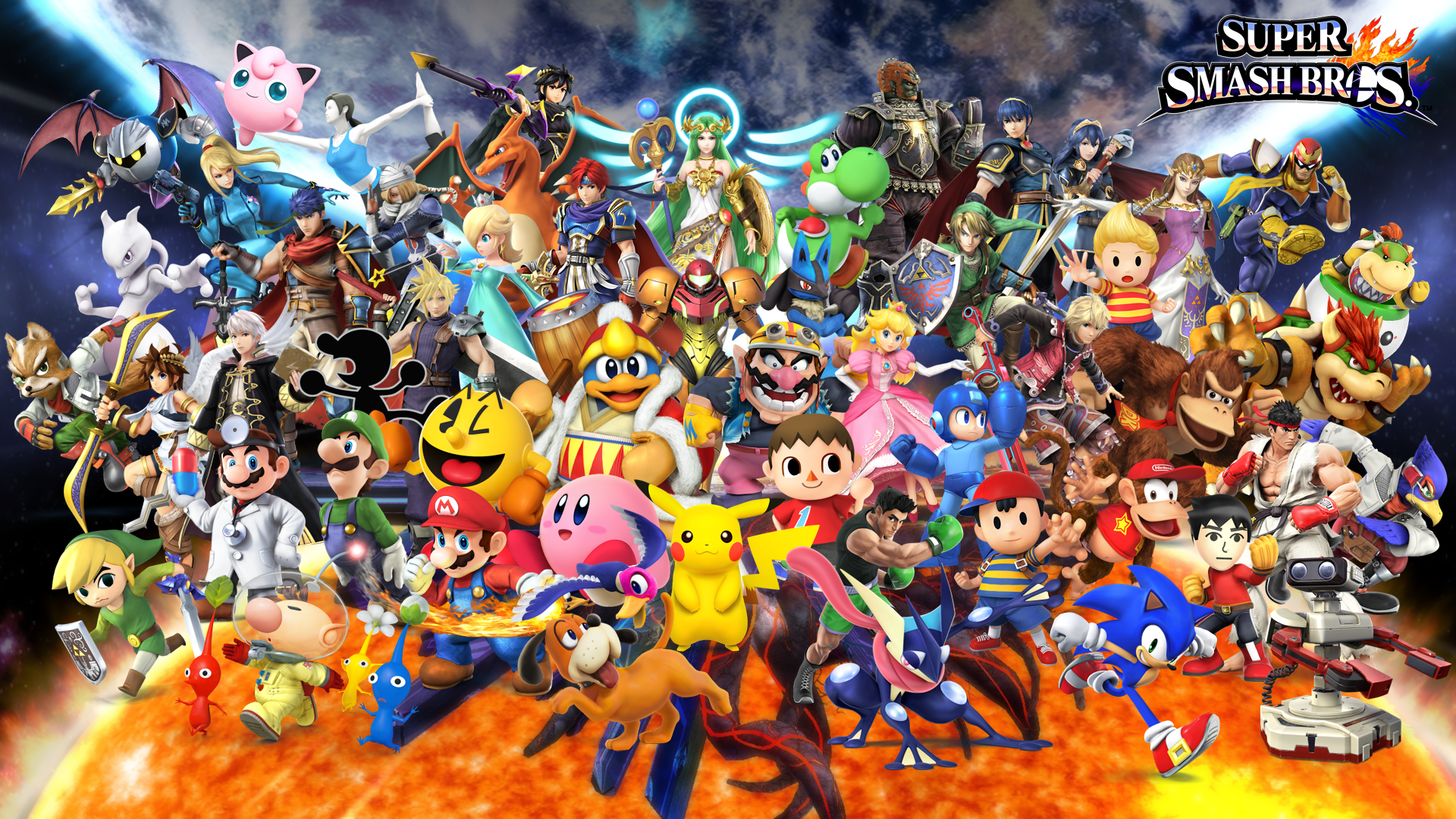 TJI83: Smash Wallpaper 1920x1080 Download