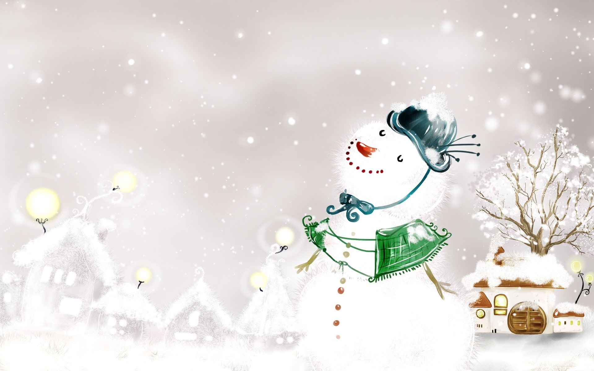 Snowman – High Quality HD Wallpapers