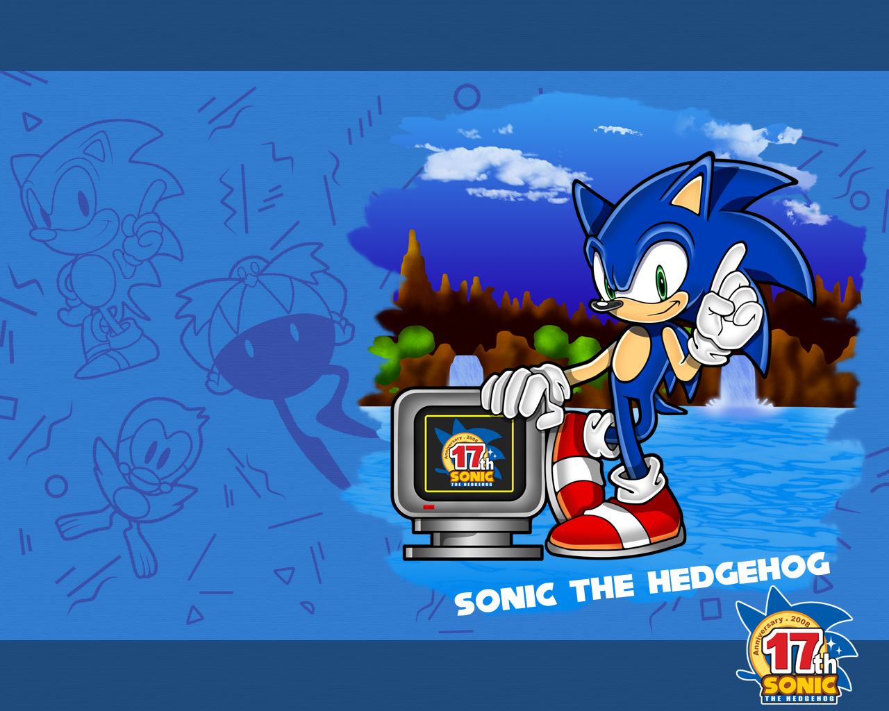 HQ RES Wallpapers of Sonic