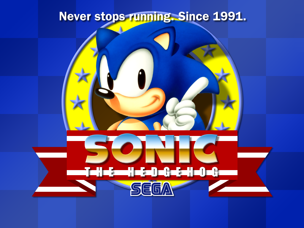 Sonic 100 Quality HD Wallpaper Desktop