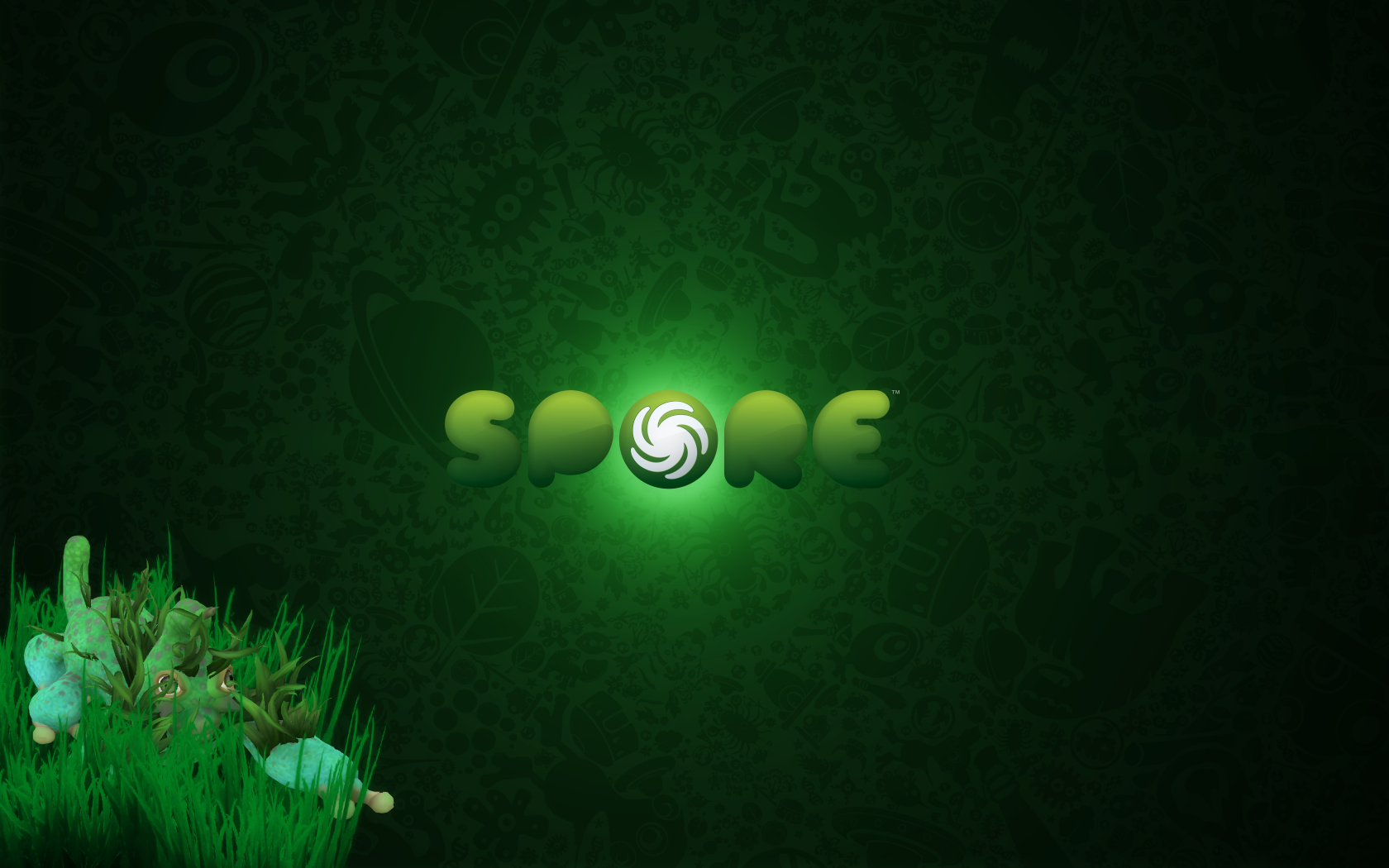 HQ RES Wallpapers of Spore