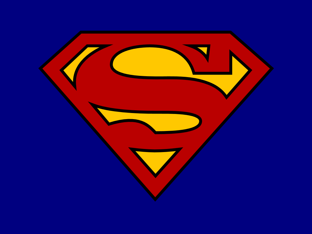 HD Quality Images of Superman Logo : #39039979 1024x768
