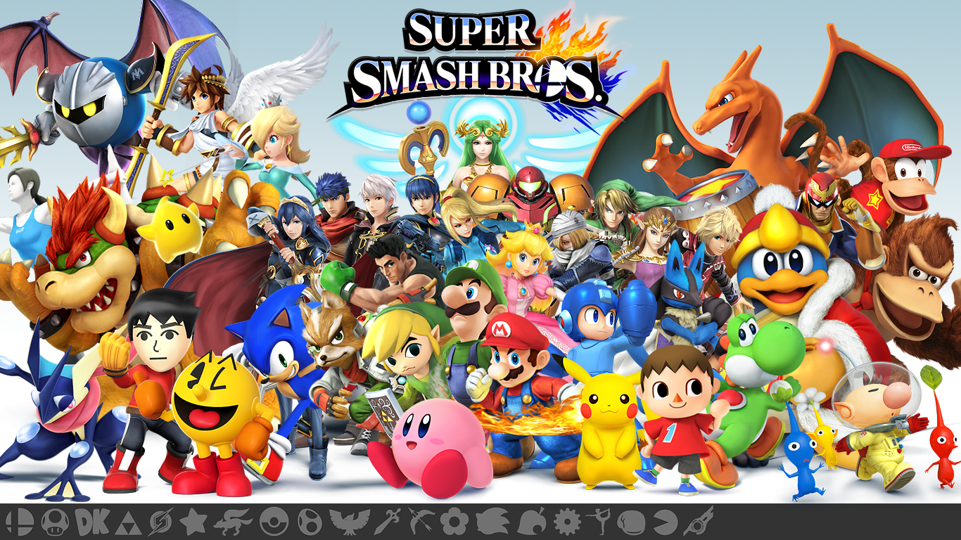 hd images super smash bros collection