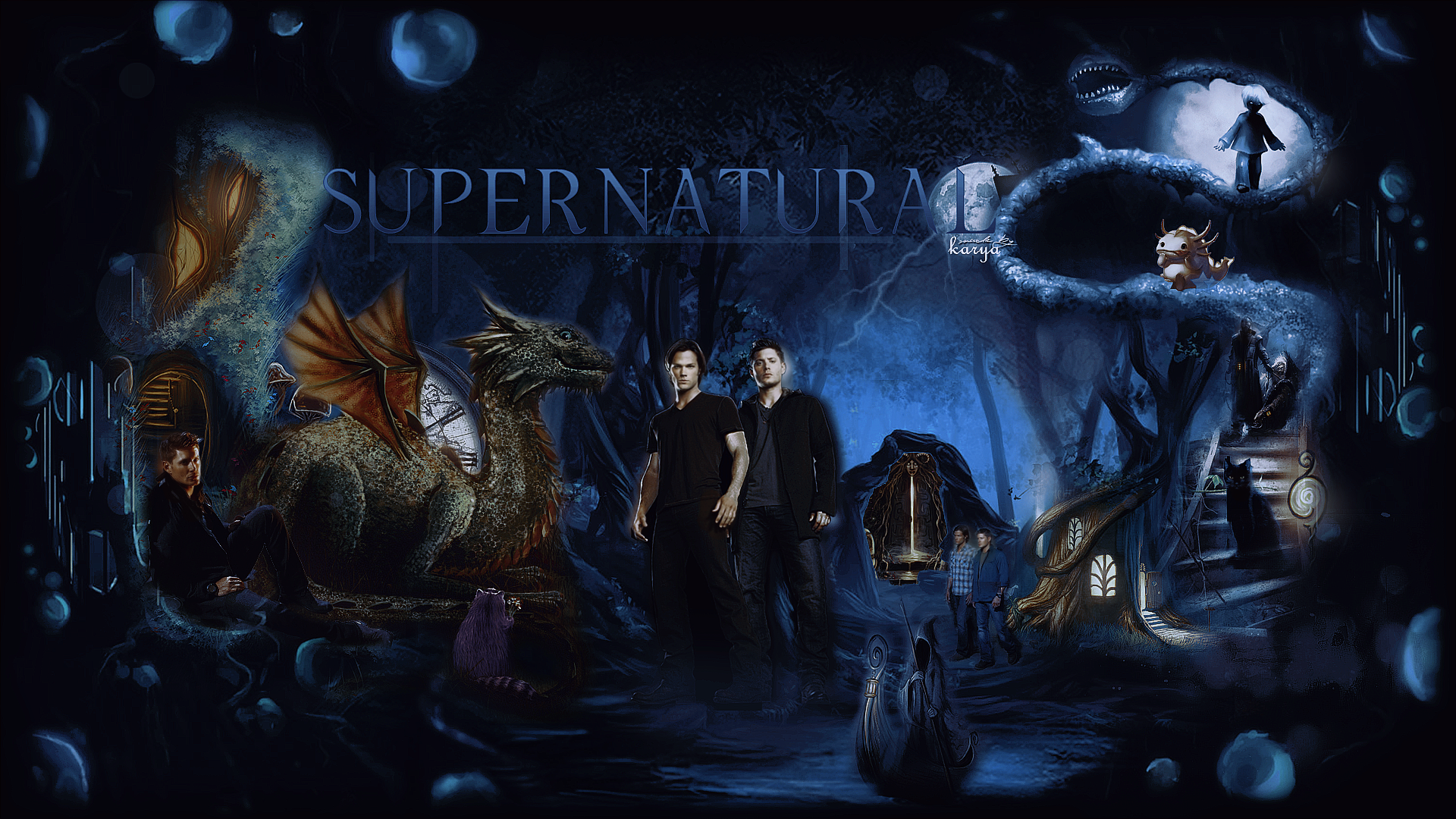 Supernatural HD Backgrounds for PC